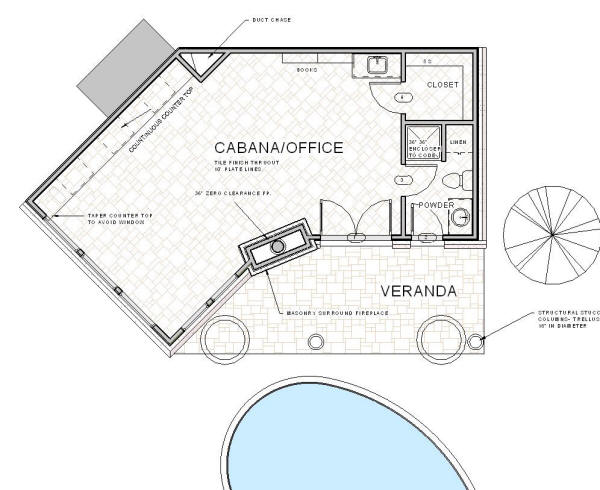 Home Plans With Cabana House Design Plans